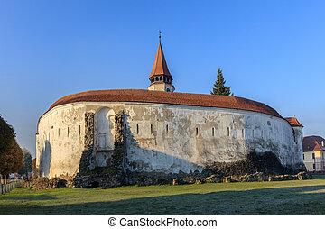 Prejmer fortified Church. Brasov, Romania