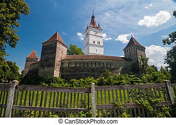 Prejmer Fortified Church, Romania - View of the Prejmer...