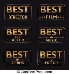 premi, meglio, film