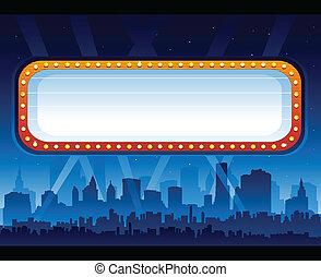 premier de la película, -, vida nocturna, ciudad
