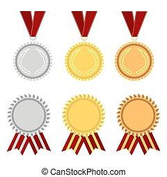 premio, rosetta, oro