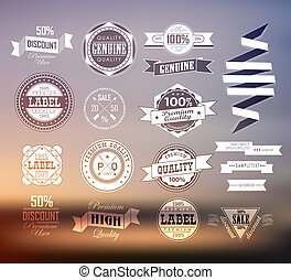 Premium and High Quality Label / Icon - Premium and High...