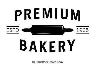Premium bakery : Bakery label badge