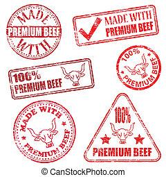 Premium Beef Stamps