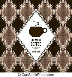 premium coffee background