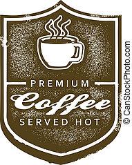 Premium Coffee Sign