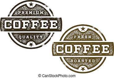 Premium Coffee Stamps