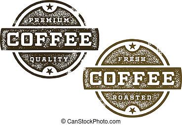 Premium Coffee Stamps
