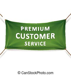premium customer service banner