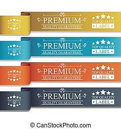 premium design over white background vector illustration