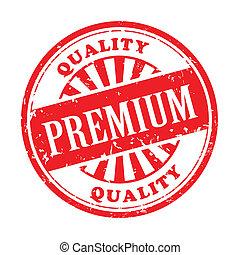premium grunge rubber stamp