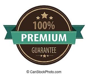 premium guarantee stamp