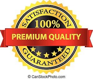 Premium Quality Badge - Premium Quality Satisfaction...
