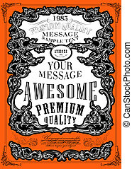 Premium Quality, Guarantee typography design ?an be used for...