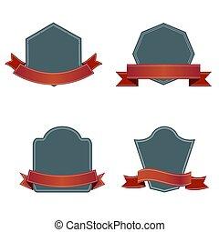 Design elements with retro vintage design , vector illustration