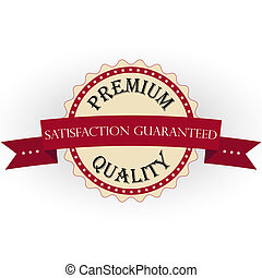 Premium Quality Labels with retro v