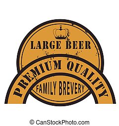 premium quality large beer