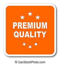 premium quality orange flat design modern web icon