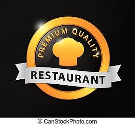 Premium quality restaurant golden