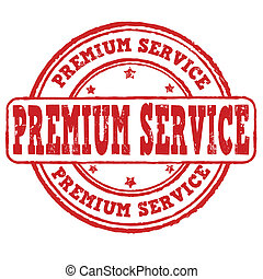 Premium service stamp