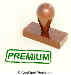 Premium Stamp Shows Excellent Product - Premium Stamp Shows...