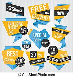 Premium Vector Sale Badges and Labe