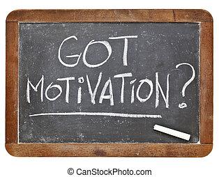 prendere, motivazione, domanda