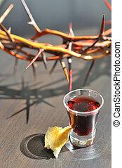prendre, communion