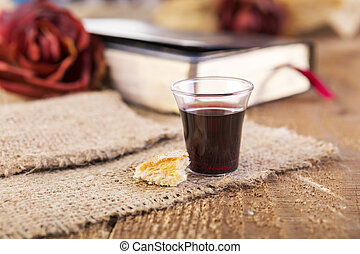 prendre, communion
