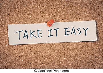 prendre, facile, il