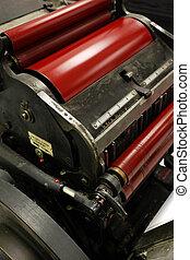 prensa impressão