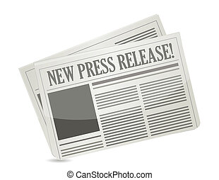 prensa, nuevo, liberación