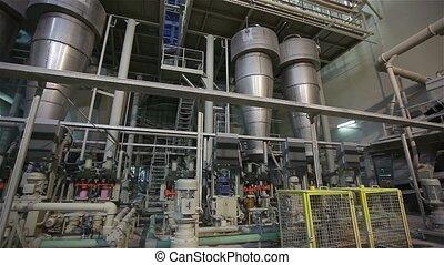 preparación, cerámico, moderno, producción, fábrica, arcilla, equipo, azulejo, nuevo, fábrica, fabricantes