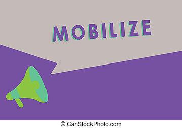 preparare, capace, testo, esposizione, schierare, mobile, ...