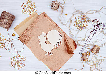 Preparation for christmas holidays - Christmas decoration...