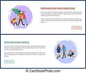 Preparation for Christmas Winter Holidays Set
