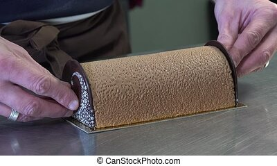 Preparation of a Yule log