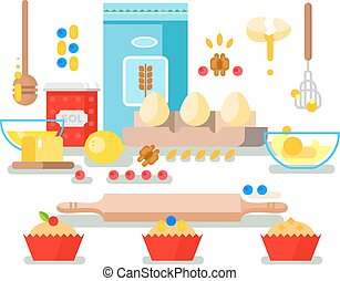 Preparation of baking ingredients