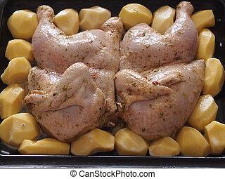 Preparation of chicken