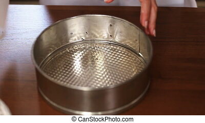preparation of dishes for baking in the oven