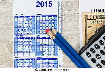 preparazione, anno, tassare reddito