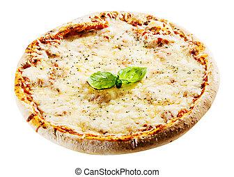 4 cheeses Italian pizza