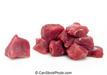 Prepared veal - Prepared especially for beef stew