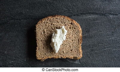 Prepares and arranges sandwich - Prepared and arranged toast...