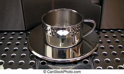 Preparing Espresso - Canon HV30. HD 16:9 1920 x 1080 @ 25.00...