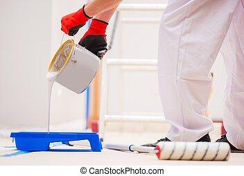 Preparing For Room Painting