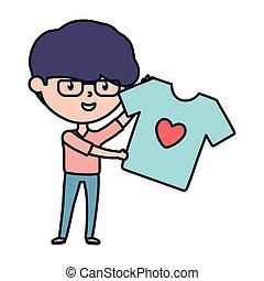 presa a terra, carità, giovane amore, camicia, donazione, ...