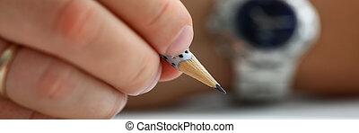 presa a terra, pronto, maschio, mano, matita, semplice, disegnare