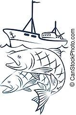 presa, peschereccio