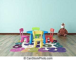 preschool kids room